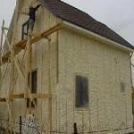 Технология утепления деревянного дома - монтаж утеплителя 1