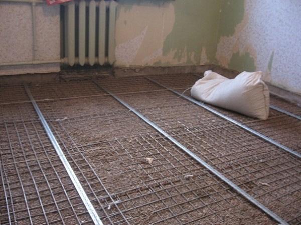 Как утеплять керамзитом бетонный пол 5