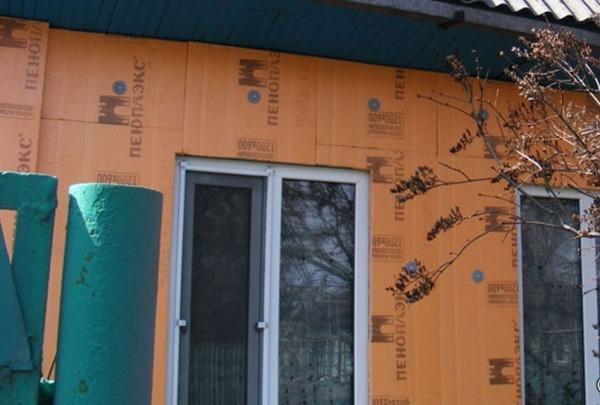 Утепление деревянного дома пеноплексом 3