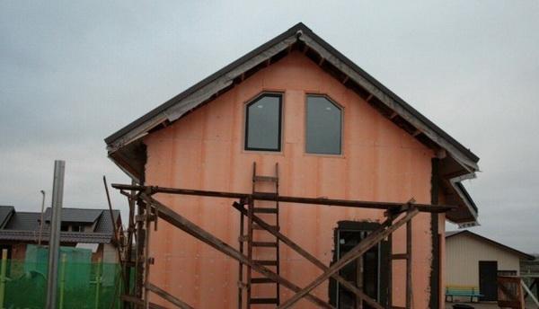 Утепление деревянного дома пеноплексом 4