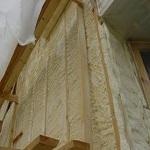 Утепление деревянного дома при помощи пенополиуретана 1