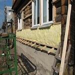 Как утеплять деревянный дом снаружи под сайдинг 1