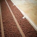 Как делать деревянный пол по грунту с утеплением керамзитом 1