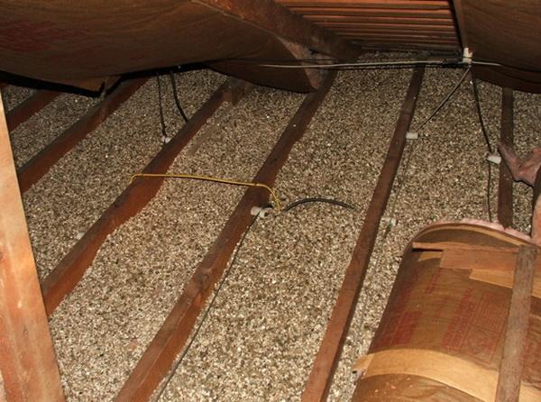 Как утеплять керамзитом чердак и крышу 5