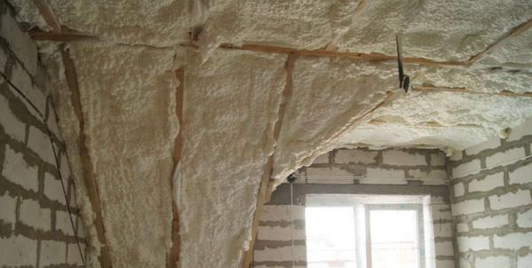 Можно ли утеплять пенополиуретаном крышу 3