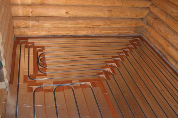 Утепление пола в деревянном доме 5