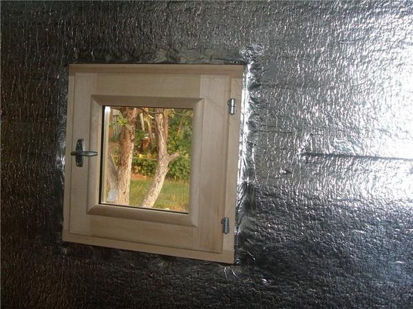 Применяем фольгированный утеплитель для стен внутри бани 3