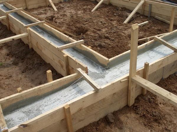 Фундаментные работы - стоимость заливки фундамента за куб 4