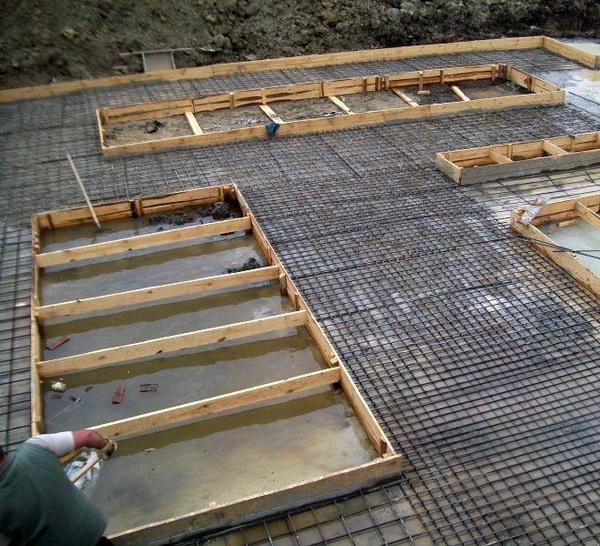Фундаментные работы - стоимость заливки фундамента за куб 5