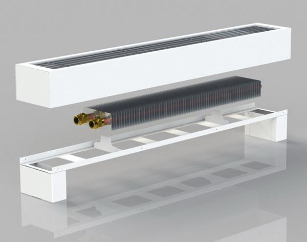 Выбираю напольные радиаторы отопления – водяные с вентилятором 4