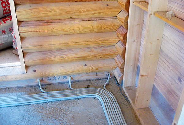 Наружная проводка в деревянном доме - правила и прокладка проводки 5
