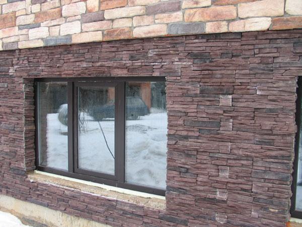 Чем облицевать цоколь дома - природный камень для облицовки цоколя жилья 5
