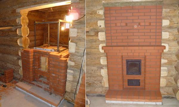 Устройство печи в деревянном доме 5