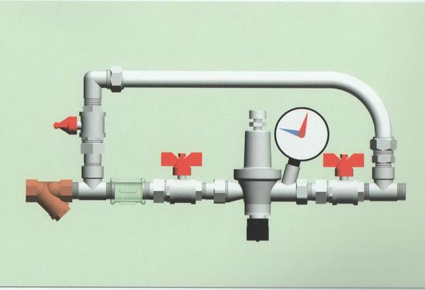 Перепускной клапан системы отопления - что это такое и как работает 5