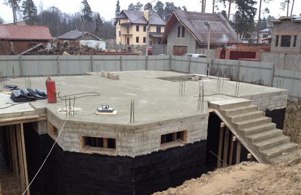 Строительство цокольного этажа своими руками - возводим одноэтажный дом с цокольным этажом 4