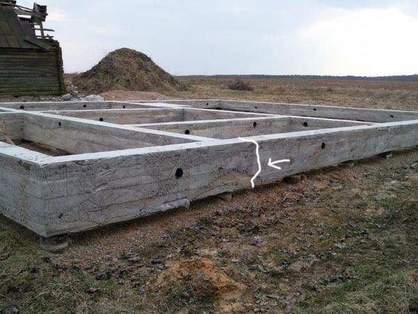 Треснул фундамент - что делать теперь, и как укрепить фундамент старого дома 4