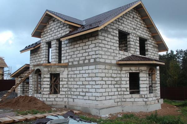 Типовые проекты домов из пеноблоков в частном строительстве 2
