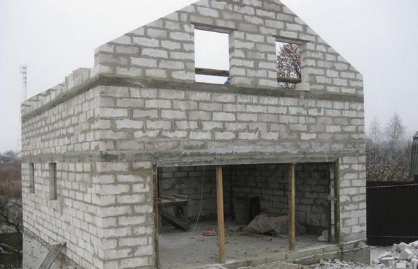 Типовые проекты домов из пеноблоков в частном строительстве 5