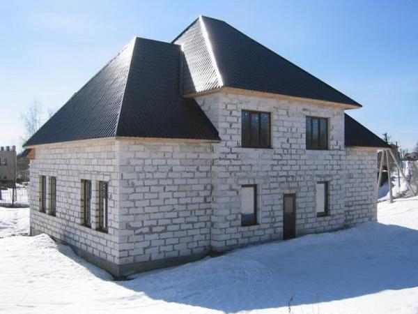 Стоимость газобетона за куб - считаем смету на частный дом 4