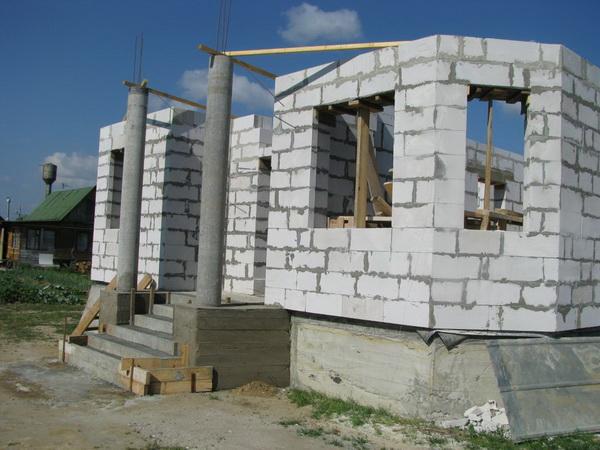 Частные дома из газобетонных блоков 4