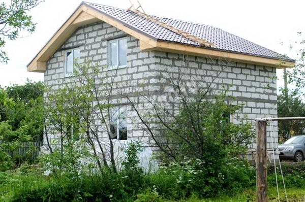 Частные дома из газобетонных блоков 5