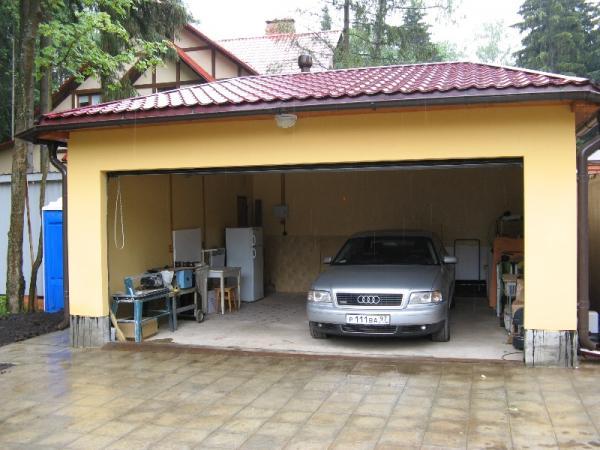 Строим свой гараж из СИП панелей - от А до Я 3