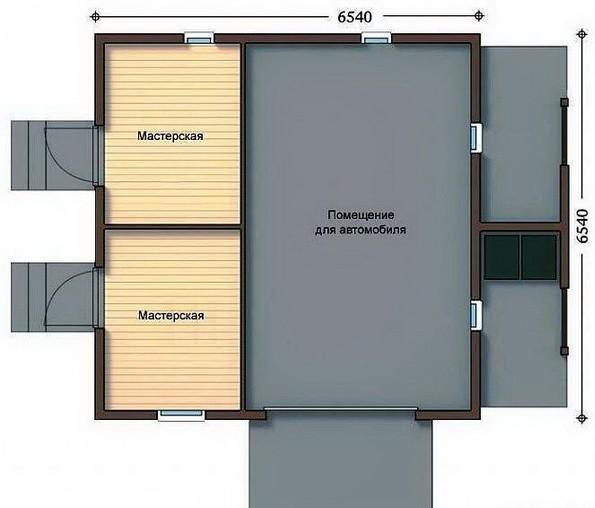 Строим свой гараж из СИП панелей - от А до Я 5