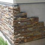 Варианты отделки фундамента дома под камень 1