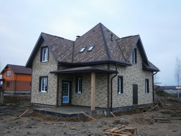 Возможные варианты постройки домов из арболита 3