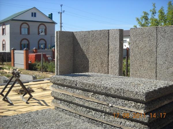 Возможные варианты постройки домов из арболита 5