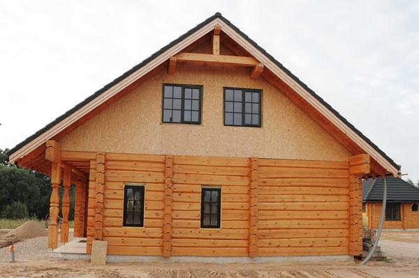 Постройка дома из сухого профилированного бруса в средней полосе России 2