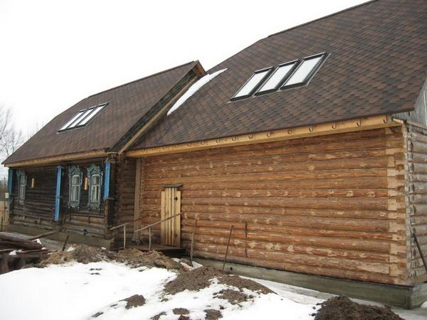 Как правильно пристроить пристройку к деревянному дому 3
