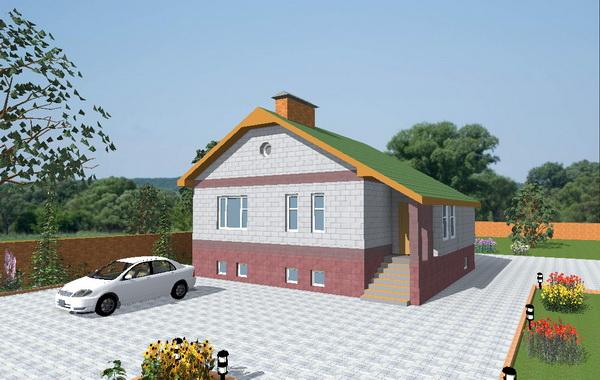 Оригинальные проекты домов с цокольным этажом 2