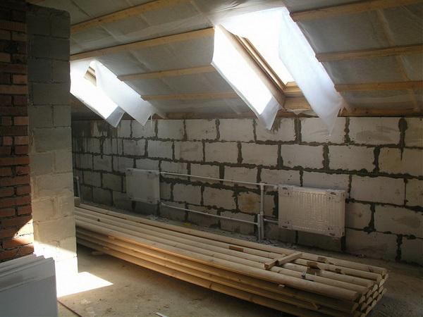 Внутренняя отделка частного дома из пеноблоков 3
