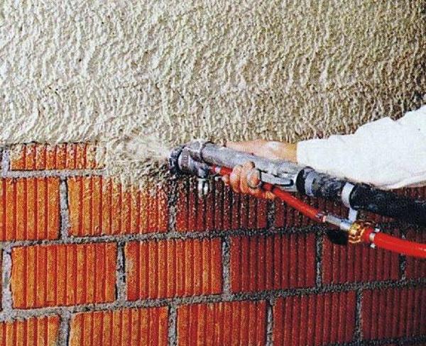 Применяем теплую штукатурку для фасада кирпичного дома 5