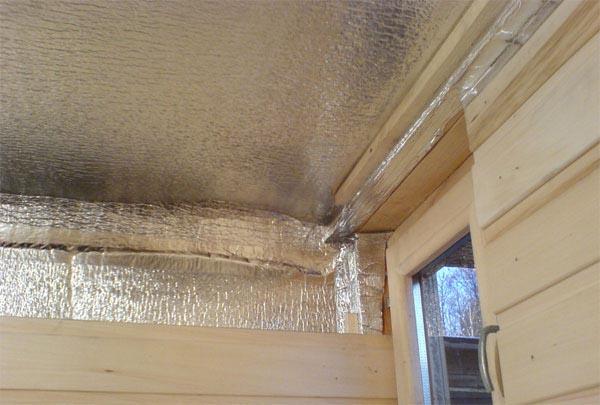 Пароизоляция для бани на потолок в парилке - 3 лучших варианта 3