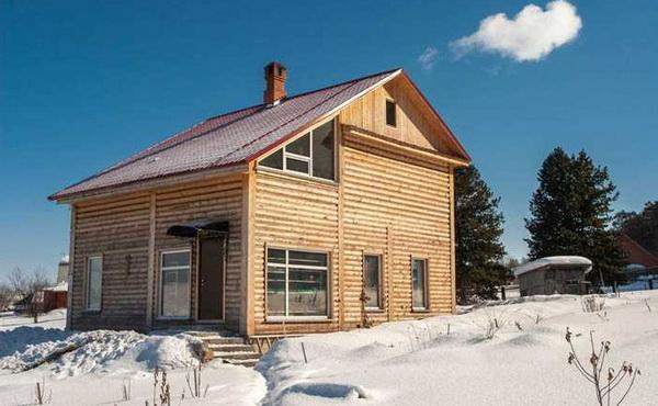 Можно ли строить жилой дом из бруса зимой 2