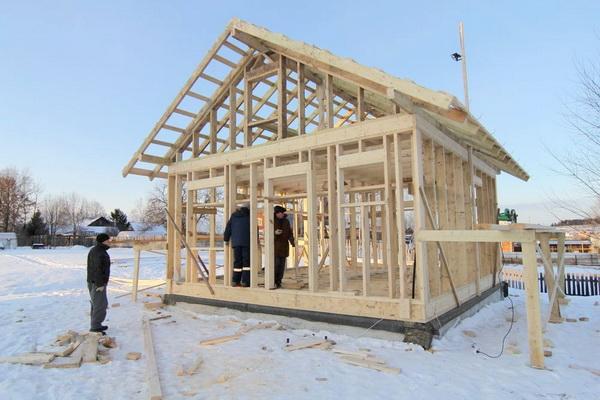 Так можно ли строить дом зимой? 2