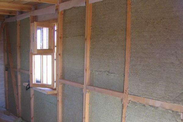 Утепление брусового дома изнутри 2