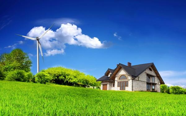 Элеткроснабжение дома ветряк