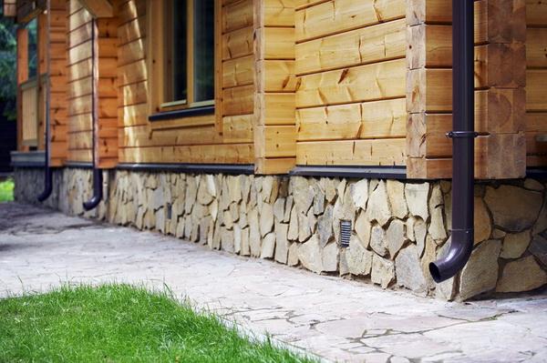 Утепление цоколя, подвала и фундамента в деревянном доме 2