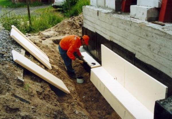 Утепление цоколя, подвала и фундамента в деревянном доме 4