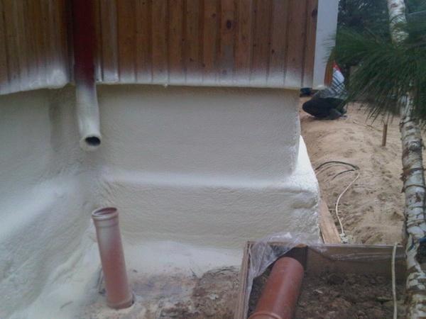 Утепление цоколя, подвала и фундамента в деревянном доме 5