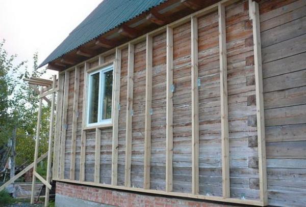 Как утеплять деревянный дом снаружи под сайдинг 2