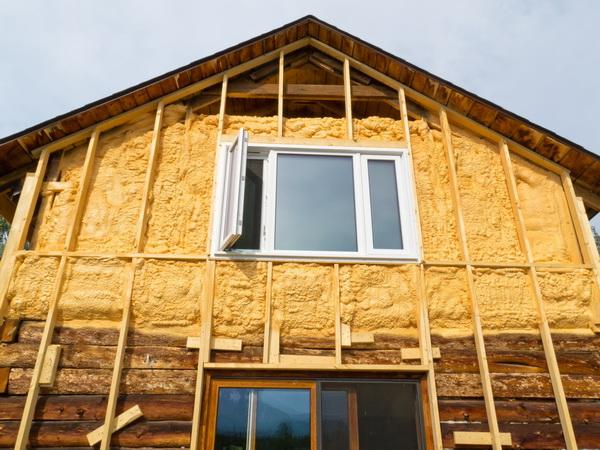Как утеплять деревянный дом снаружи под сайдинг 4