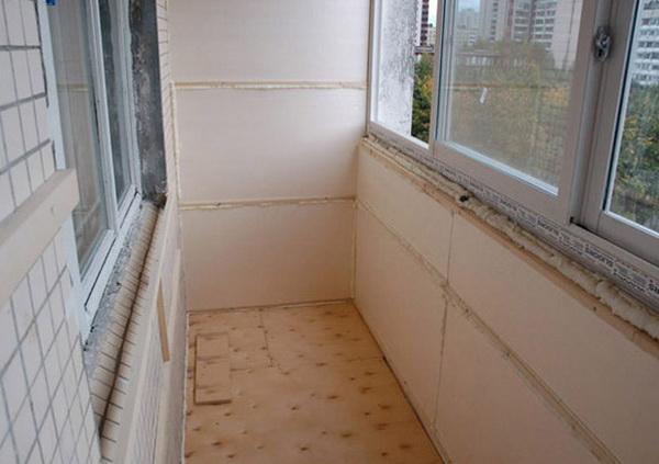 Утепляем пенополиуретаном лоджию и балкон 5