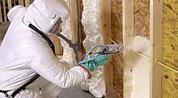 Утепляем изнутри стены, пол и потолок ППУ 2