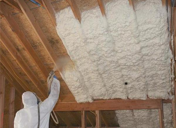 Утепляем изнутри стены, пол и потолок ППУ 4