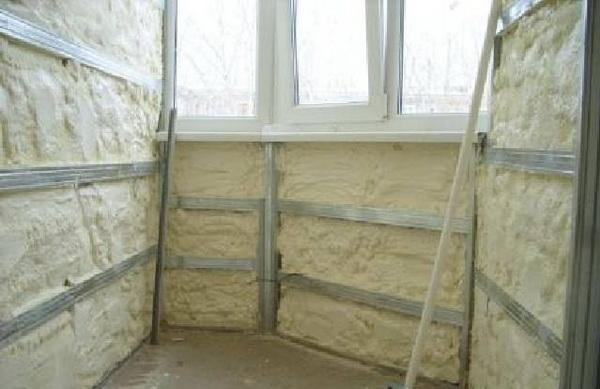 Утепляем изнутри стены, пол и потолок ППУ 5