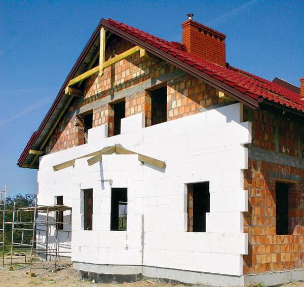 Утепление кирпичного дома - утепляем стены снаружи 4